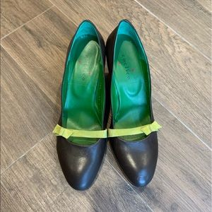Coclico Brown/Green Heels Size 39